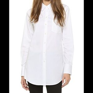 Theory Robertson oversized button down